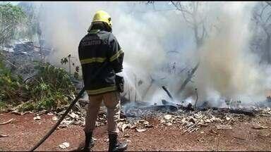 Incêndio dentro de Araguaína causa transtornos para motoristas - Incêndio dentro de Araguaína causa transtornos para motoristas
