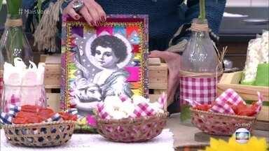 Casa de Cristal ganha decoração Junina - Ana Maria mostra detalhes e dá dicas