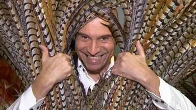 Mauricio Pina - Mauricio, getulinense 'da gema', éhojeum dos maiores destaques do carnaval brasileiro.