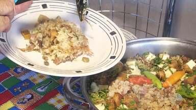 Aprenda a fazer receita de baião de dois, uma das mais tradicionais do Nordeste - Prato feito à base de feijão com arroz ajuda a repor as energias nas festas juninas.