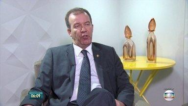 Angelo Gioia deixa cargo de secretário de Defesa Social de Pernambuco - Ele será substituído por Antônio de Pádua Cavalcanti, que também é delegado da Polícia Federal