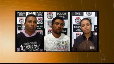 Trio suspeito de tráfico de drogas é preso em Campina Grande - Presos são parentes da idosa presa conhecida como 'vovó do tráfico'.
