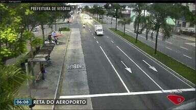 Confira imagens do trânsito na Grande Vitória nesta quinta-feira (29) - Câmeras mostram as principais vias da região metropolitana.