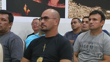 Policiais civis participam de curso de aperfeiçoamento de técnicas operacionais - Curso abrange policiais militares, rodoviários e delegados de Santarém e região.