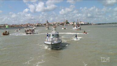 Fiéis acompanham procissão marítima no Dia de São Pedro em São Luís - Fiéis acompanham procissão marítima no Dia de São Pedro em São Luís