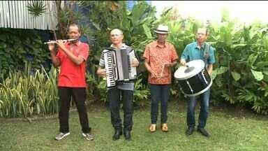 Chau do Pife se apresenta em Maceió - Músico encerra as festas juninas na capital.
