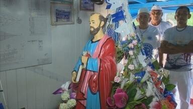 Procissão de São Pedro reúne centenas de devotos em Porto Velho - Cerimônia religiosa ocorreu na quinta-feira (29).