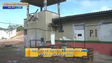 Justiça revoga interdição do Presídio Regional de Joinville - Justiça revoga interdição do Presídio Regional de Joinville