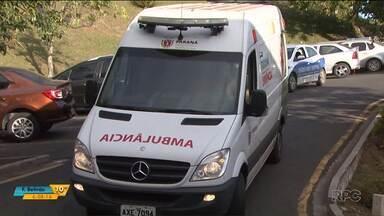 Bebê que teria sido agredido pelos pais ganha alta da UTI em Ponta Grossa - O menino de seis meses está bem, mas os médicos não descartam a possibilidade do bebê ter ficado com sequelas.