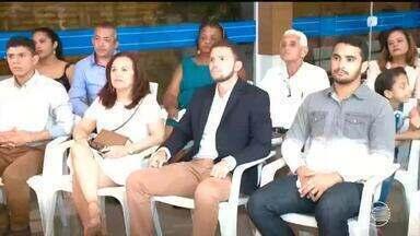 Equipe da TV Clube é premiada por reportagem sobre a Caminhada da Fraternidade - Equipe da TV Clube é premiada por reportagem sobre a Caminhada da Fraternidade