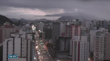 Terça-feira (4) será de frio no Espírito Santo, diz previsão - Temperatura mínima em Vitória será de 15º C.