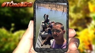 Telespectadores enviam fotos para o quadro 'Tô no BDG' - Imagens podem ser enviadas por email, QVT ou Whatsapp.