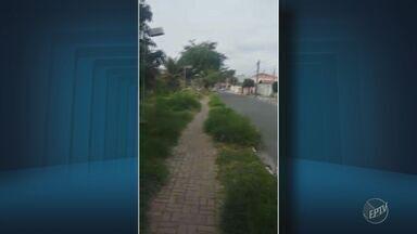 'Até Quando?': moradora reclama de abandono em praça do Jardim Planalto, em Campinas - Prefeitura de Campinas disse que o reparo no local será realizado em até uma semana.