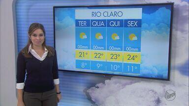 Confira a previsão do tempo para São Carlos e região - Confira a previsão do tempo para São Carlos e região nesta terça-feira (4)