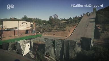 #CaliforniaOnboard visita a mega rampa na casa do skatista Bob Burnquist - undefined