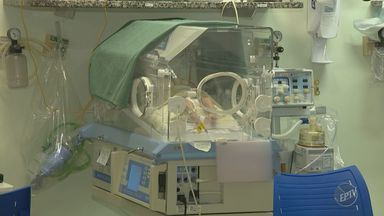 Hospital Maternidade de Campinas mantém suspensão de internações da UTI neonatal - Hospital enfrenta o vírus sincicial respiratório.