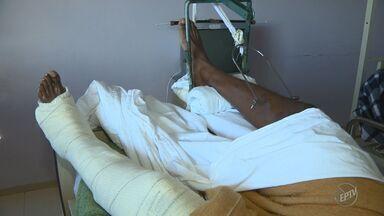 Falta de atendimento em municípios sobrecarrega Hospital Estadual de Sumaré - Unidade estadual deveria atender prioritariamente casos de ortopedia de média e alta complexidade, mas acaba realizando cirurgias simples.