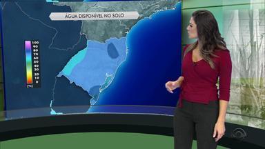 Tempo: áreas de instabilidade se aproximam do Sul do RS - Previsão será de chuva fraca na próxima no estado.