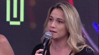 Fernanda Gentil fala sobre namoro - Jornalista comenta situação