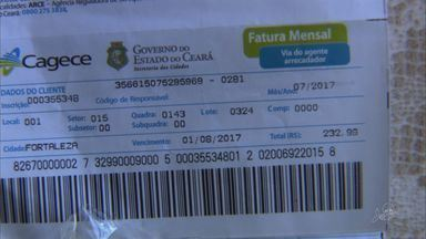 Conta de água de lojistas do Centro de Fortaleza tem preço triplicado - Eles reclamam do aumento repentino do valor.