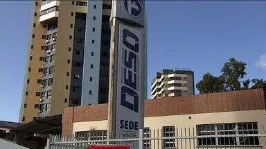 Funcionários da Deso realizam protesto em Aracaju - Funcionários da Deso realizam protesto em Aracaju.