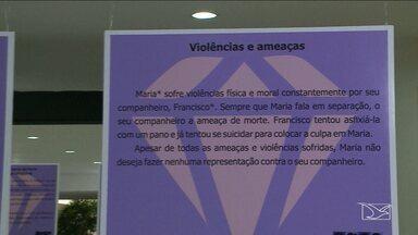 Fim do relacionamento é motivo para violência contra a mulher - Pesquisa divulgada pela Vara Especial de Violência Doméstica e Familiar contra a Mulher de São Luís que 51% das vítimas tiveram filhos com o agressor e 72% dos casos de agressões ocorreram dentro de casa