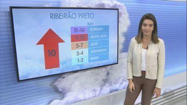 Veja a previsão do tempo para esta quarta-feira na região de Ribeirão Preto - Em Franca, a quarta-feira começa com 10°C, e a máxima chega aos 23°C.