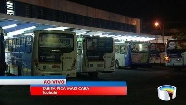 Ônibus é reajustado em Taubaté a partir desta quarta-feira - Nova tarifa é de R$ 3,50.
