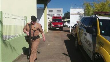 Presos de São Mateus do Sul fazem rebelião na cadeia da cidade - O motim começou por volta da uma hora da tarde e depois duas horas depois. Eles pedem a transferência de presos condenados.