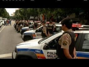 Polícia Militar faz homenagem ao Cabo morto por assaltantes em Santa Margarida - Três criminosos foram presos. Operação tenta localizar os outros envolvidos