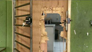 Escola em Sooretama, no Norte do ES, é invadida e vandalizada - Delegado pela ajuda da comunidade para a identificação dos suspeitos.