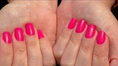 Mamães que amamentam podem pintar as unhas - Na amamentação, a mulher pode fazer as unhas, o esmalte não faz mal para o bebê. Especialistas comentam sobre a saúde das unhas.