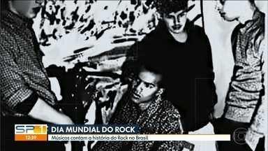 Músicos contam a história do Rock no Brasil - Esta quinta-feira (13) é o dia mundial do Rock. O SP1 foi conversar com três ícones do Rock nacional. Todos eles tocam na Grande São Paulo ainda este mês, para celebrar a data.
