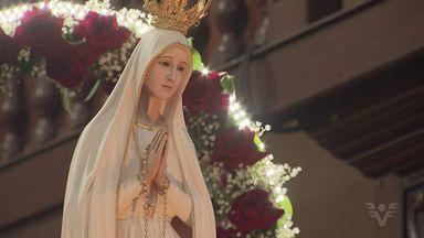 Imagem peregrina de Nossa Senhora de Fátima se despede da Baixada Santista - Imagem da santa está em Cubatão e ainda há programação nesta quinta-feira (13).