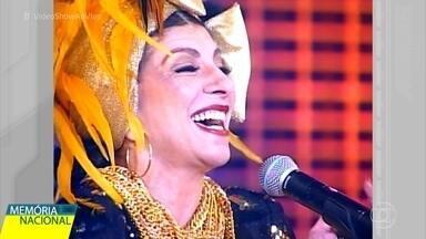 Marília Pêra é homenageada no 'Memória Nacional' - Diva da televisão brasileira leva Miguel Falabella às lágrimas ao relembrar a vida e a obra da grande atriz