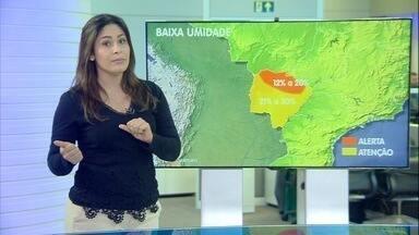 Veja previsão do tempo para sexta-feira (14) em MS - Veja previsão do tempo para sexta-feira (14) em MS