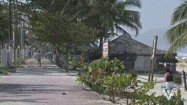 Guarujá lança edital para demolição de antigos quiosques da praia da Enseada - Ação segue um Termo de Ajustamento de Conduta feito entre a Administração Municipal.