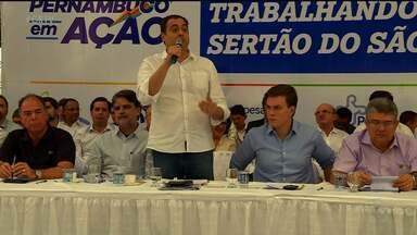 Governor Paulo Câmara esteve em Petrolina nesta sexta-feira (14) - Ele participou do Projeto 'Pernambuco em Ação'.