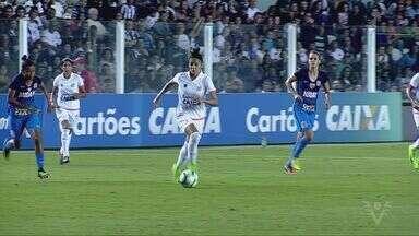 Jogo das Sereias da Vila bate recorde de público na Vila Belmiro - Mais de 15 mil torcedores assistiram à vitória do time.