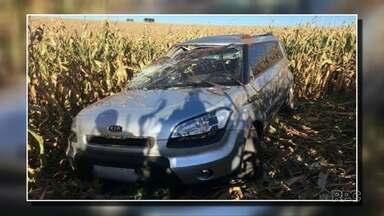Policial é preso por suspeita de envolvimento em latrocínio - Vítima capotou o carro ao tentar fugir de assaltantes