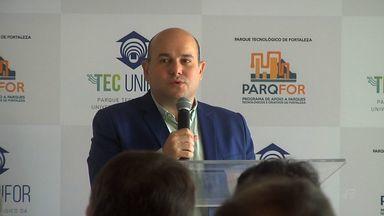 Unifor inaugura Parque Tecnológico nesta sexta - Evento contou com a presença do prefeito de Fortaleza, Roberto Cláudio.