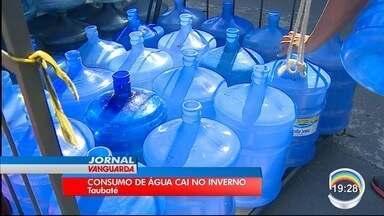 Esquecer de beber água é problema durante o inverno - Queda na venda de água é de até 50%.