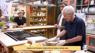 Família de Thomaz produz pão de queijo desde 1968 - Aprenda a receita desta delícia tipicamente mineira que se estabeleceu em São Paulo!
