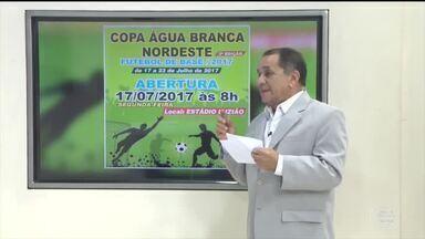 Copa Água Branca de futebol promove esporte com equipes de diversos estados - Copa Água Branca de futebol promove esporte com equipes de diversos estados