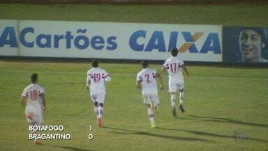 Botafogo-SP reassume a liderança do grupo após vencer o Bragantino - Jogo no Estádio Santa Cruz terminou com o placar de 1x0.
