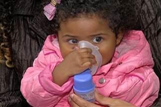 Queimadas agravam doenças respiratórias - Se o inverno já é difícil para quem tem doenças respiratórias, imagina com as queimadas. O resultado disso pode ser visto nas unidades de saúde.
