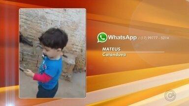 TV TEM traz fotos e vídeos de como crianças curtem as férias - TV TEM traz fotos e vídeos de como crianças curtem as férias.