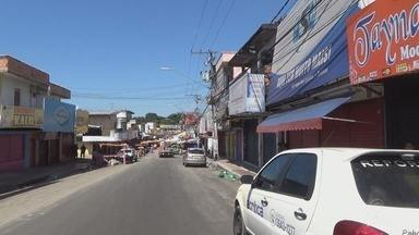 Após tiroteio e mortes, comerciantes fecham as portas com medo de violência no Mutirão, em - Populares relatam insegurança com crimes em bairro da Zona Norte da capital.