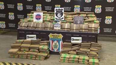 SSP divulga balanço sobre apreensões de drogas no AM - Toneladas foram apreendidas nos últimos anos.