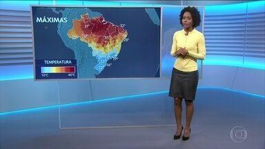 Confira a previsão do tempo para a quarta-feira (19) em todo o país - O frio continua no Sul e também em São Paulo. Todas as capitais do Centro-Oeste serão muito frias também.